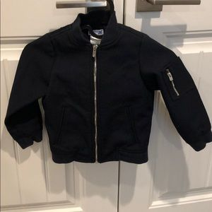 Toddler boys Jacadi jacket navy blue 4T
